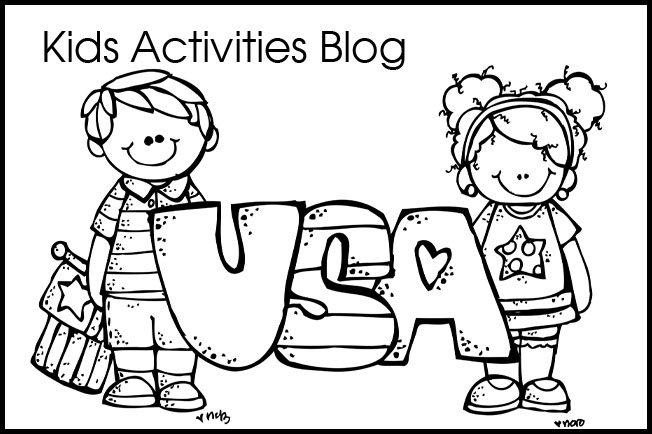 free printable 4th of july coloring pages - Free Printable 4th Of July Coloring Pages