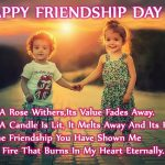 Advance Friendship day messages quotes pics Shayari in hindi english marathi malayalam