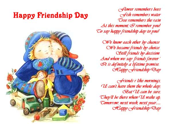 Friendship Day Greetings Cards