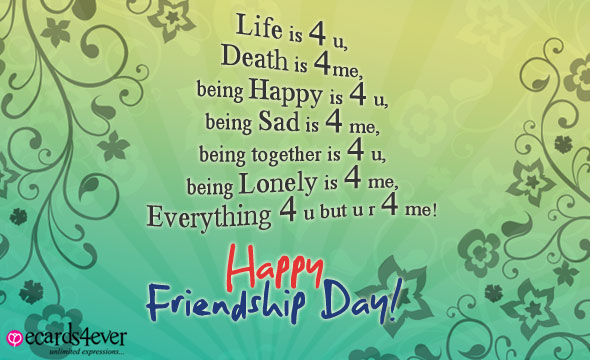 Friendship Day Wishes Cards