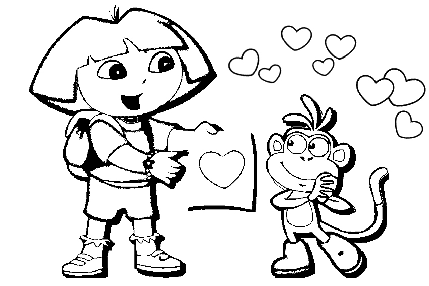 Happy Friendship Day Coloring Pages
