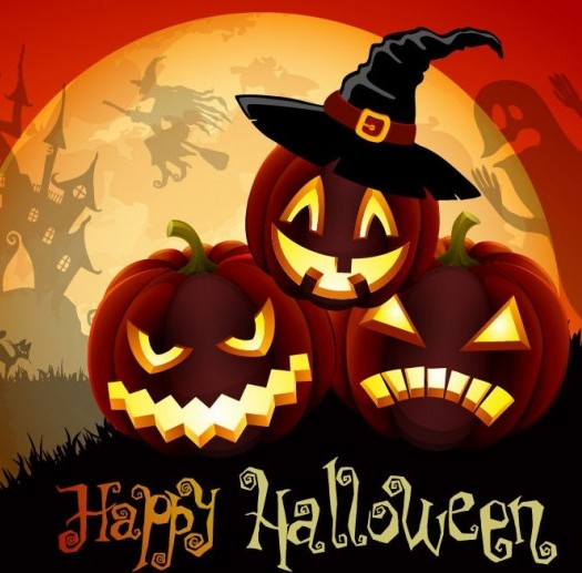 Happy halloween whatsapp graphic