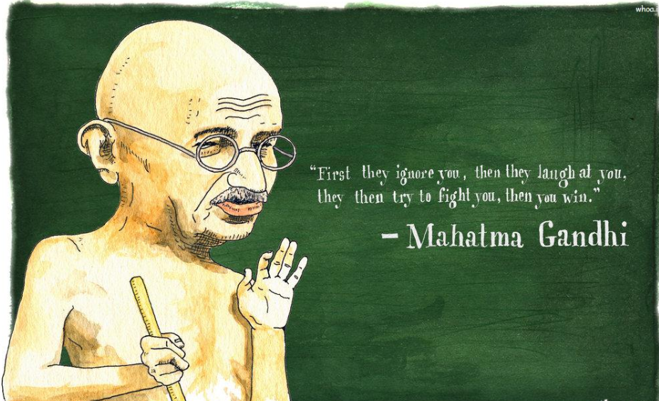 Quotation on gandhi jayanti