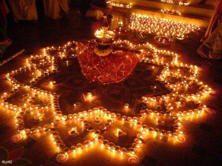 Diwali Rangoli Pictures Diya