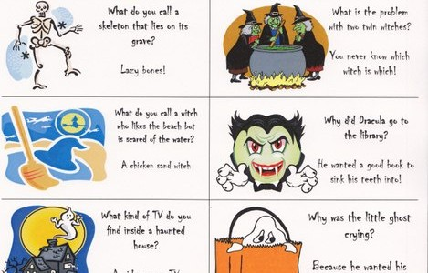 halloween jokes for Kids