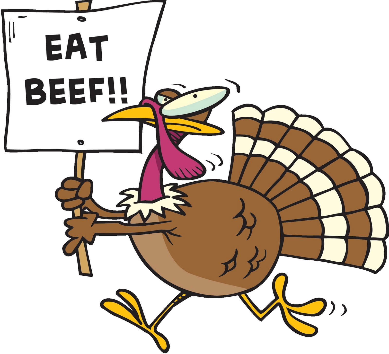 Funny Thanksgiving Clipart