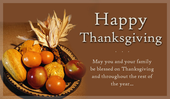 Happy Thanksgiving Wishes For Friends & Everyone