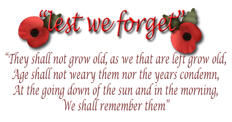 Remembrance Day Messages