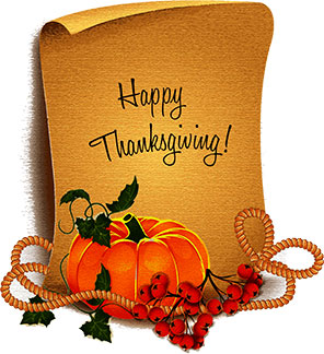 Thanksgiving Clipart Greetings