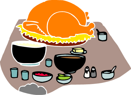Turkey Thanksigiving Clipart