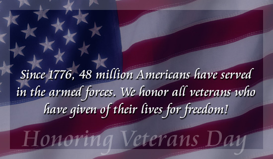 Veterans Day 2016 Wishes