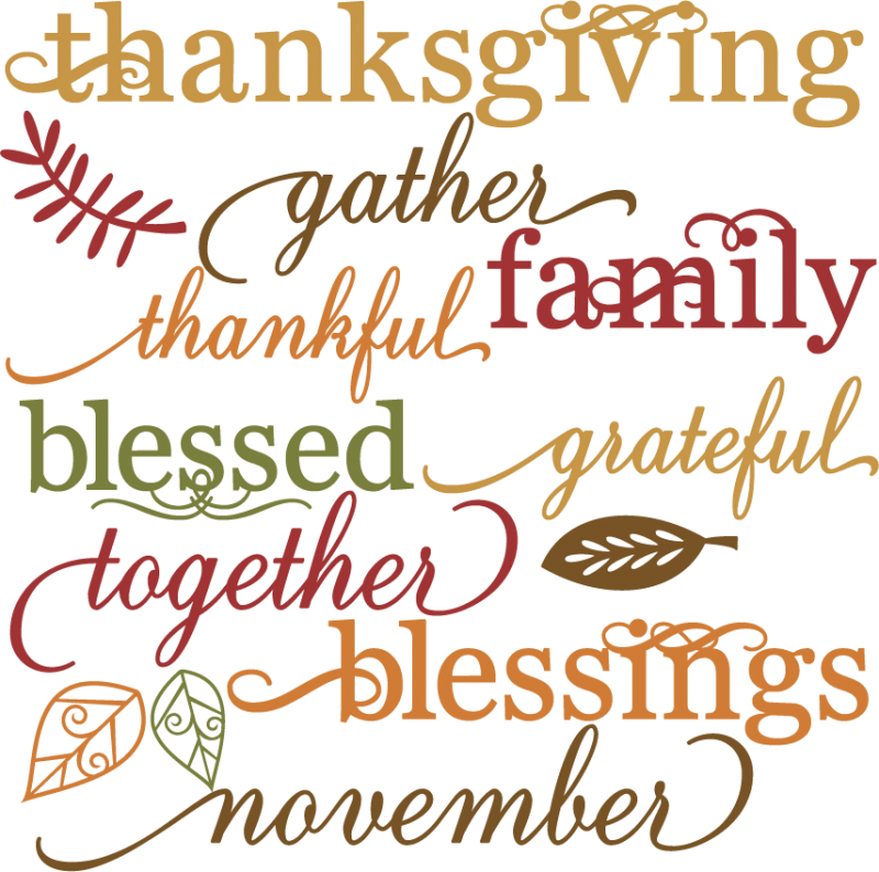 Words on Thanksgiving