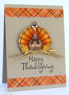 handmade thanksgiving greeting cards