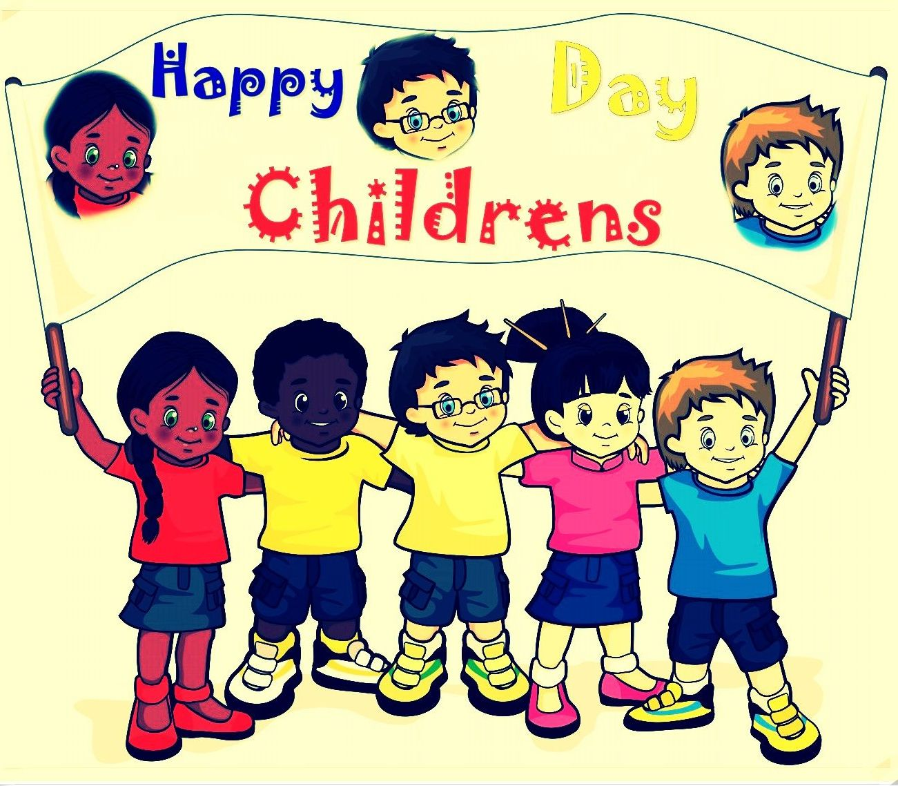 happy childrens day status