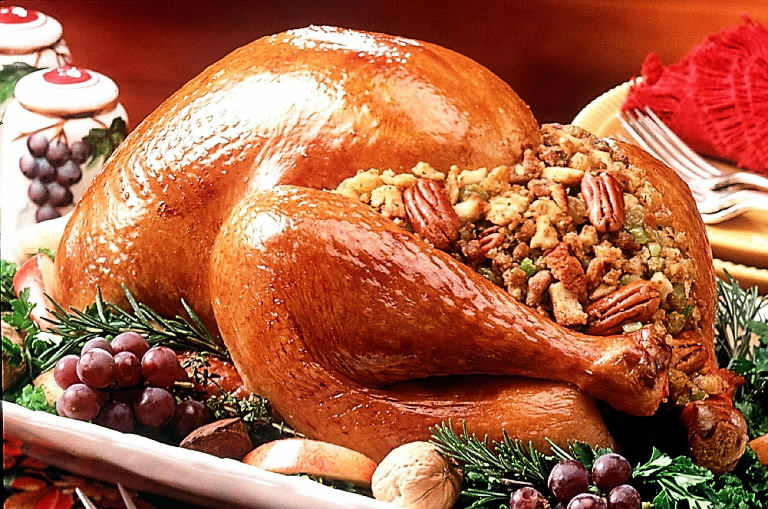 pictures of thanksgiving turkey dinner