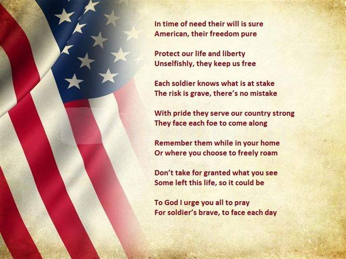 veterans day 2016 poems