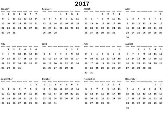 2017 calendar indian calendar annual 2017 printable