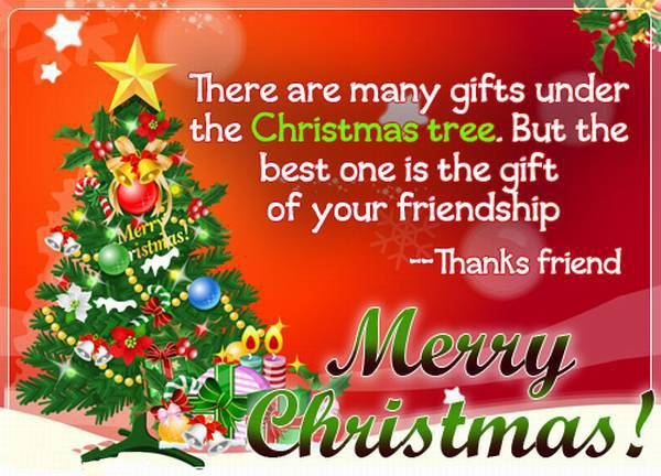 Merry Christmas Messages for Friends