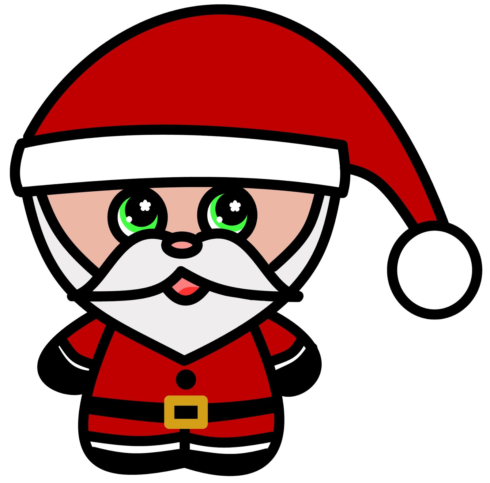 merry christmas cartoon drawing