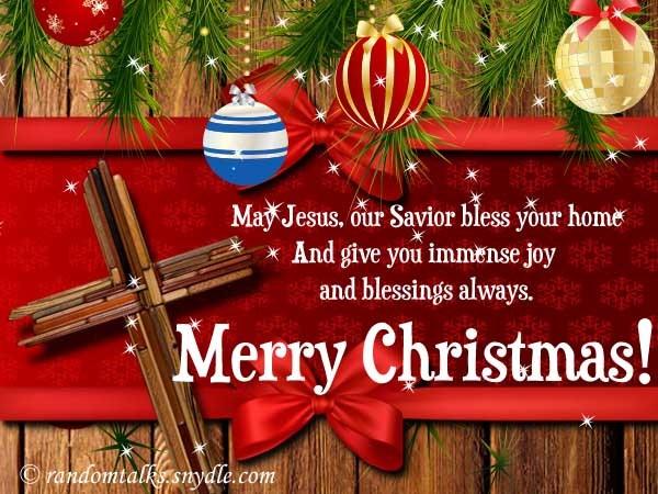 religious merry christmas greetings