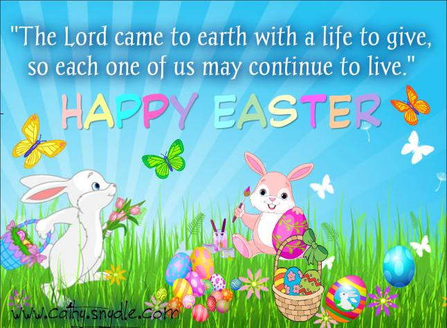 Happy Easter Sayings Quotes