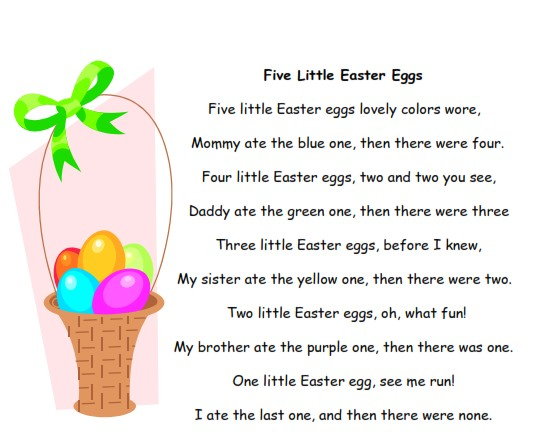 funny easter poems