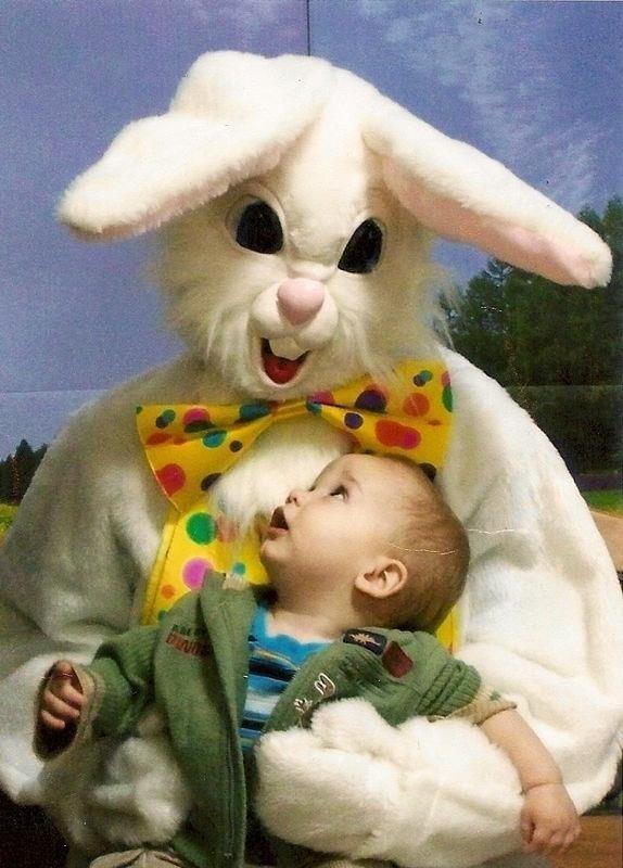 Creepy Easter Bunny Photos
