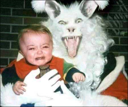 Creepy Easter Bunny Pics