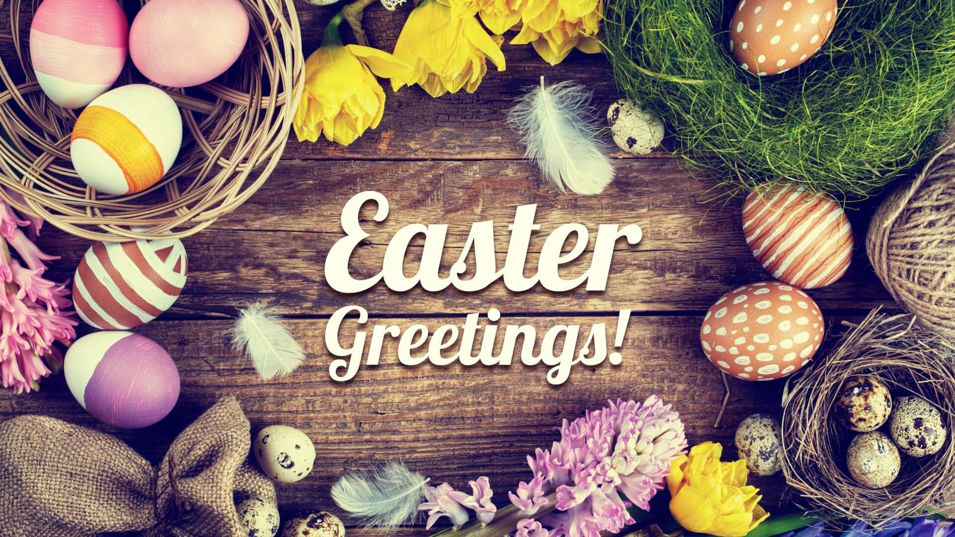 Easter Greeting 2018