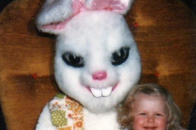 Scary Easter Bunny Photos