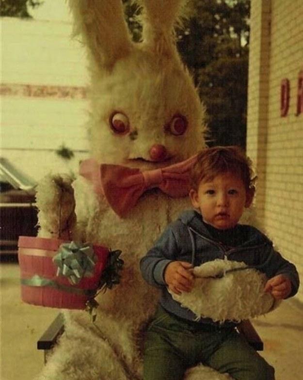bad easter bunny photos
