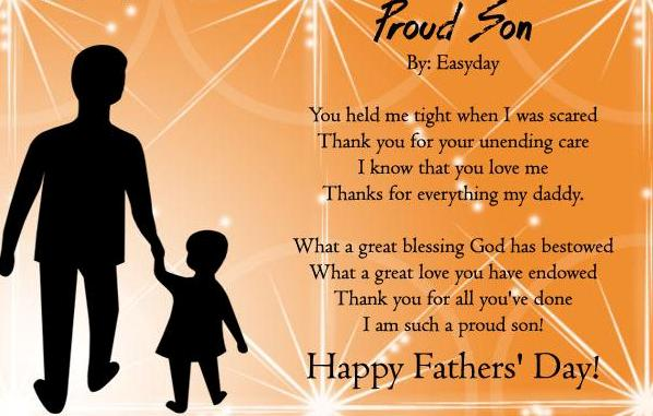 2017 Fathers Day Poems From Son