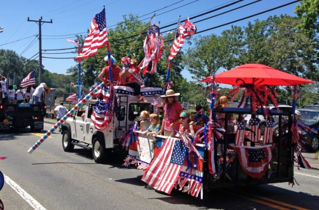 4th of July Parade Flags