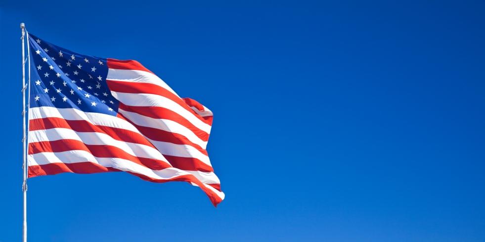 American Flags Memorial Day