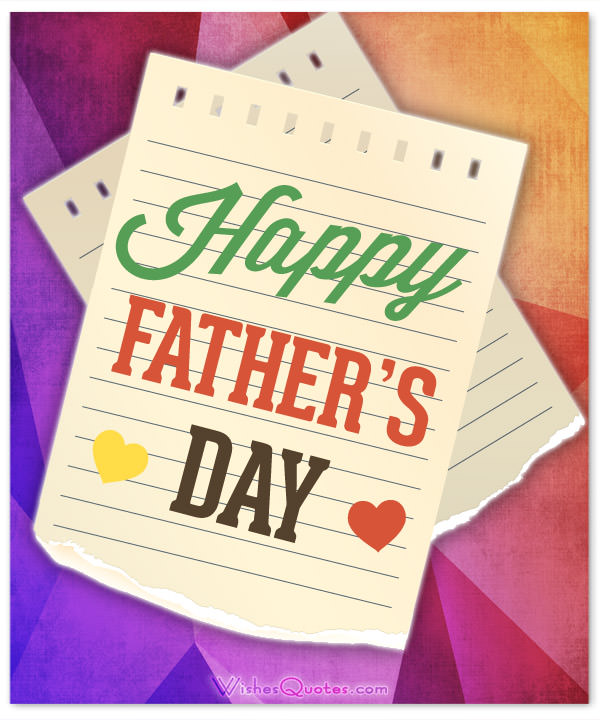best fathers day messages from daughter son wife to husband happy fathers day messages for cards 2018
