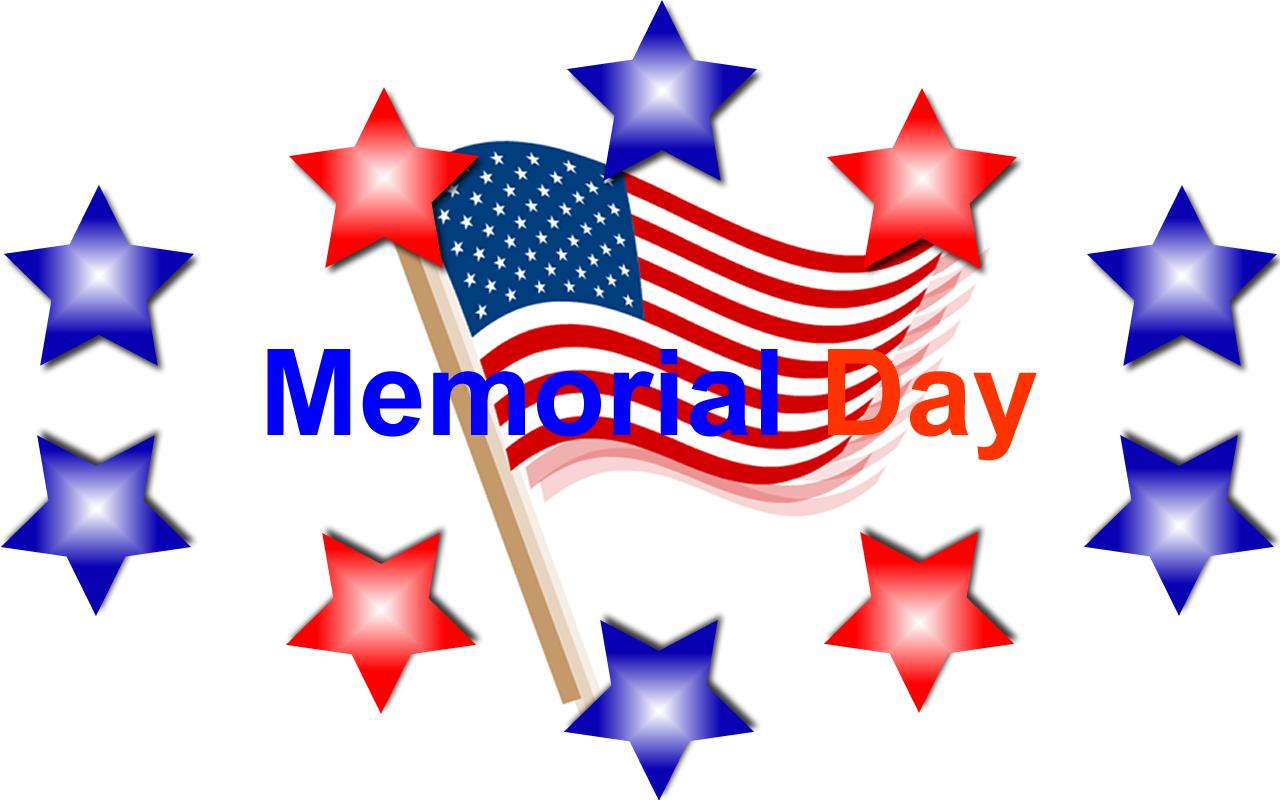 Happy Memorial Day Clip Art
