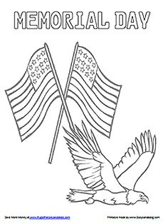 Happy Memorial Day Coloring Pages 4