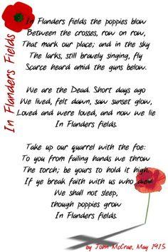 Happy Memorial Day Poems