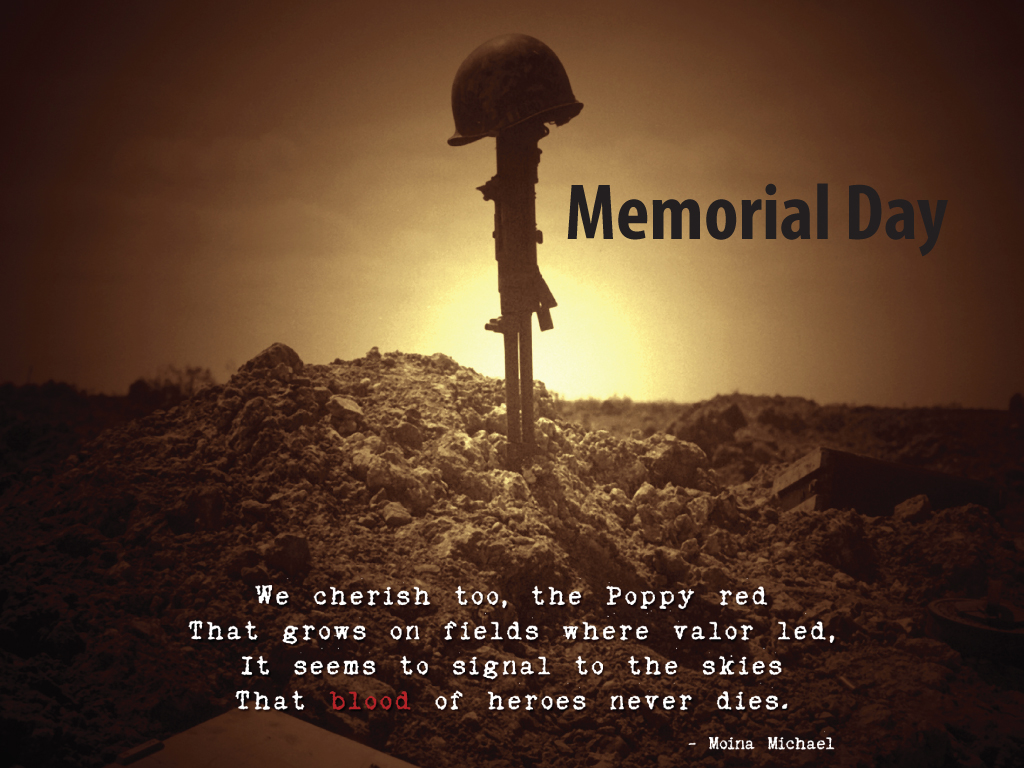 Memorial Day Quotes cards