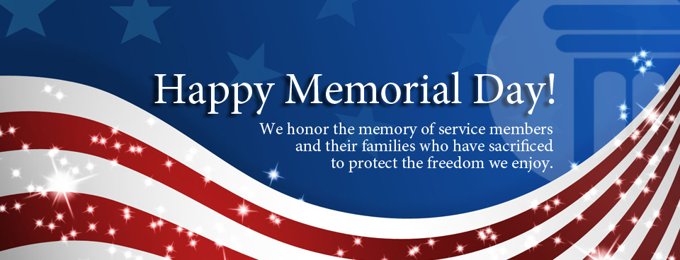 Memorial Day Thank You Banner Images