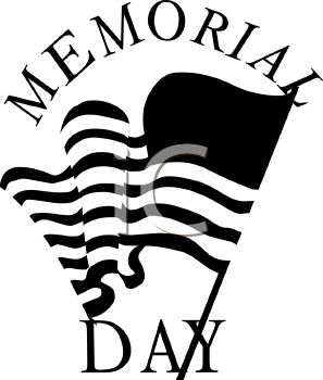 memorial day images black and white