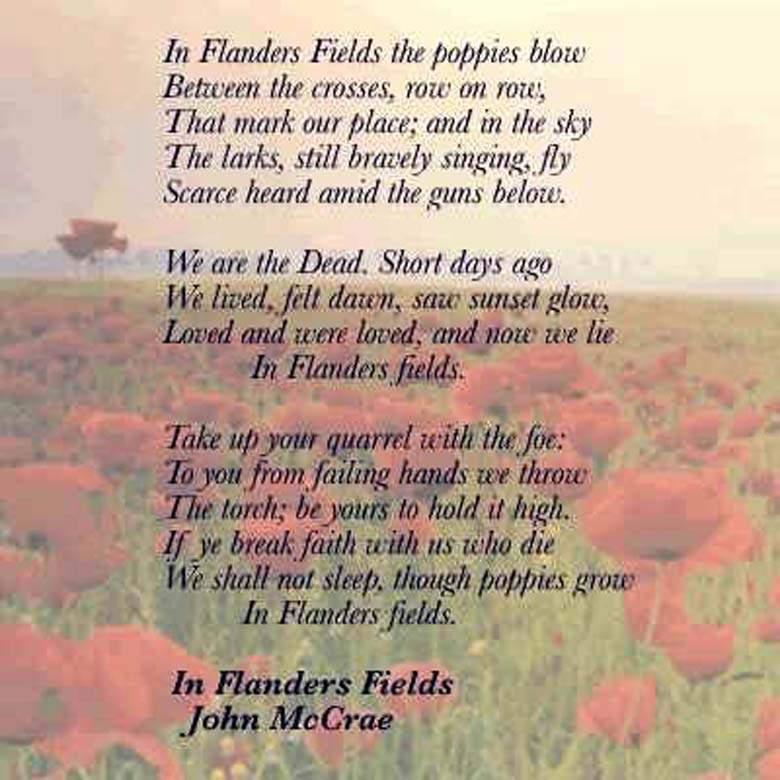 memorial day poems prayers