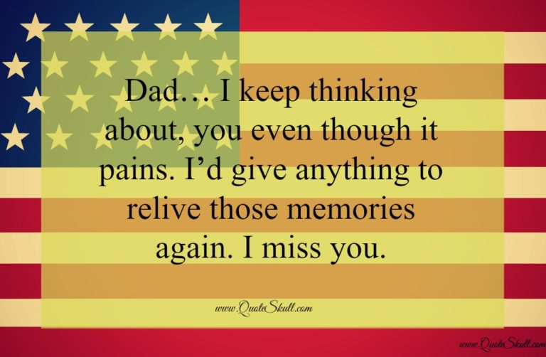 memorial day quotes for my dad