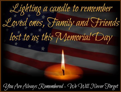 memorial day remembrance quotes