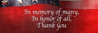 memorial day thank you