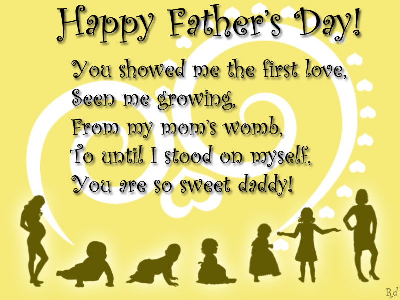 sweet fathers day messages from daughter