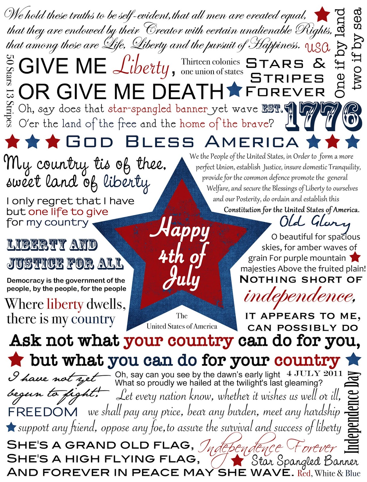 4th Of July Quotes, Happy 4th Of July Quotes, Fourth Of July Quotes