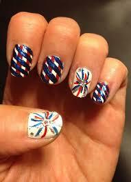 4th of July Nail Art Ideas Designs