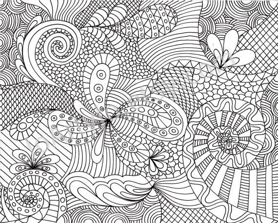 Printable coloring pages for adults patterns