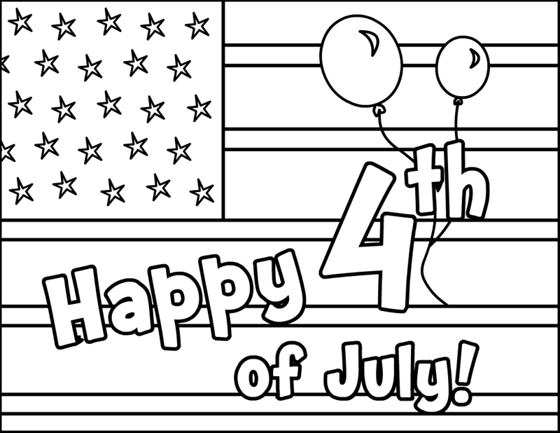 4th of july coloring pages for adult
